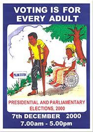 Постер во врска со гласање