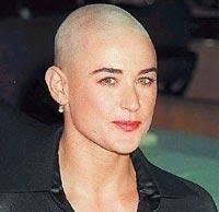 Celibrity Hairstyles Demi Moore