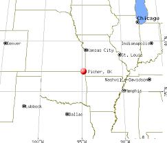 Picher, Oklahoma map