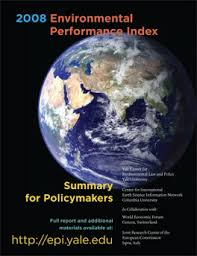 Environmental Performance Index 2008