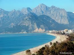 Antalya Konyaalti Plaji