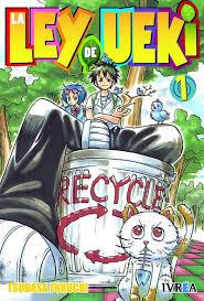 Papelera (tranquilo Ueki... es de reciclaje...)