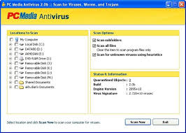 pc mav 2.0 b, antivirus