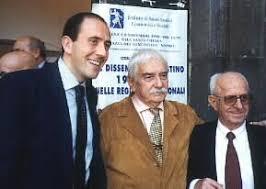 issestre Bartolo Gallitto figura storica della destra italiana, deceduto in Valle di Fiemme