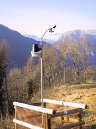 stazione meteo A Predazzo non mancano le previsioni meteo