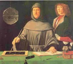 Jacopo de Barberi - Ritratto di Fra' Luca Pacioli -  Napoli, Museo di Capodimonte