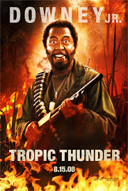 TROPIC THUNDER (2008) ** movie review by COOP
