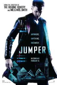 JUMPER (2008) ***1/2 DVD capsule by COOP