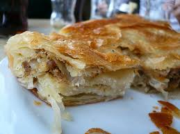 Burek - An eye watering Cheese Pie, Courtesy of the Ottoman Cuisine. A must try!!