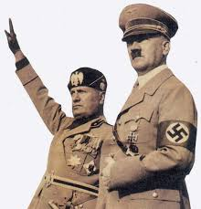 Mussolini e Hitler