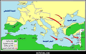 خرائط وخطط الحرب