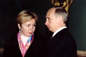 В.В. Путин с супругой