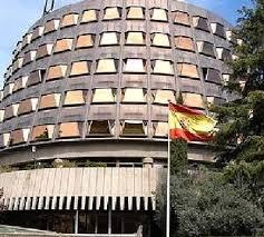 Sede del Tribunal Constitucional (TC) de España en Madrid