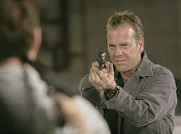 Kiefer Sutherland, star of 24