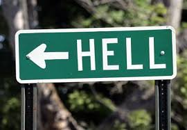 Hell sign