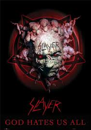 Slayer album cover for God Hates Us All