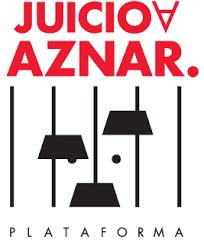 Logotipo de la 'Plataforma Juicio a Aznar'